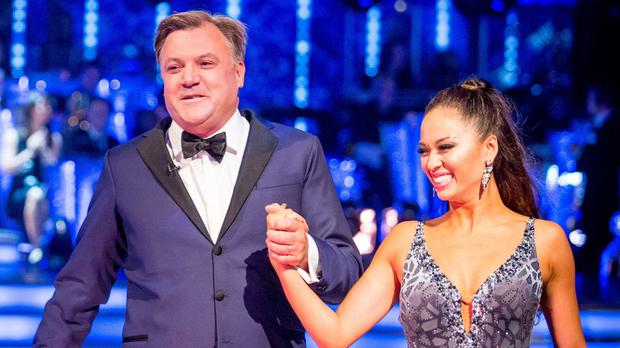 Strictly Come Dancing champion Jay McGuiness advised Ed Balls, left, to