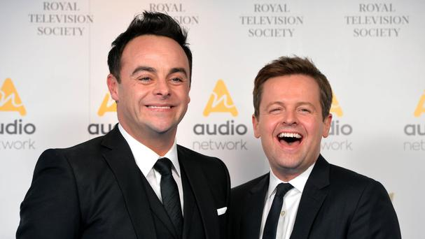 Ant and Dec: new deal close