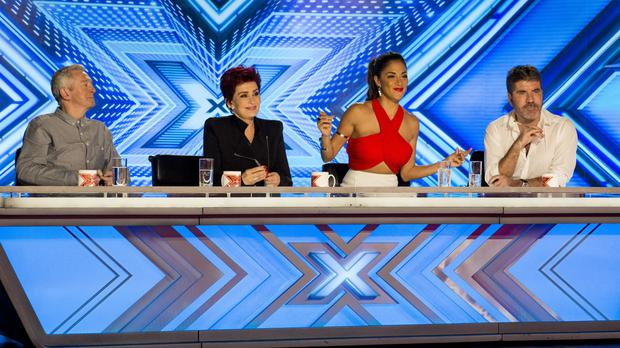 The X Factor judges have been hard at work again (Syco/Thames TV/PA)