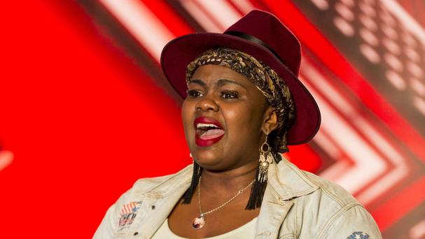 Anelisa Lamola returned for a second shot at X Factor stardom (SYCO/THAMES TV)