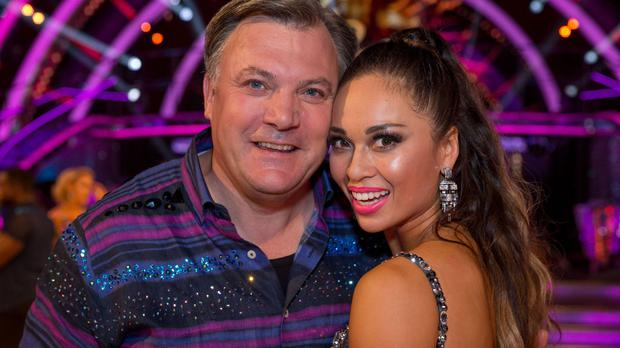Ed Balls with Katya Jones on the new series of Strictly Come Dancing