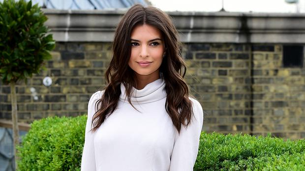 Gone Girl actress Emily Ratajkowski was defended by fashion designer Julien Macdonald