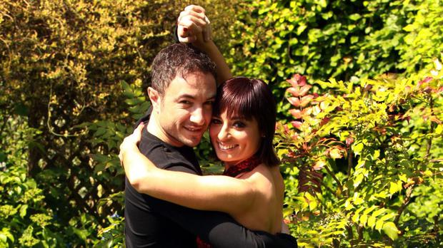 Vincent Simone and Flavia Cacace are currently touring together with their stage show The Last Tango