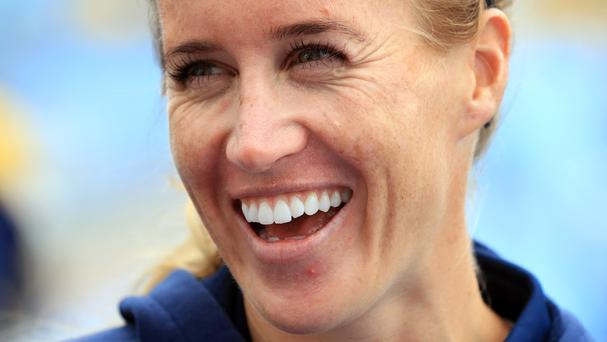 Helen Glover has married Steve Backshall