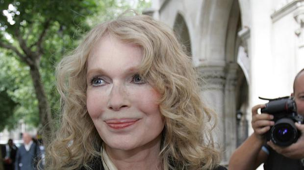 Mia Farrow said she was devastated by the loss of Thaddeus
