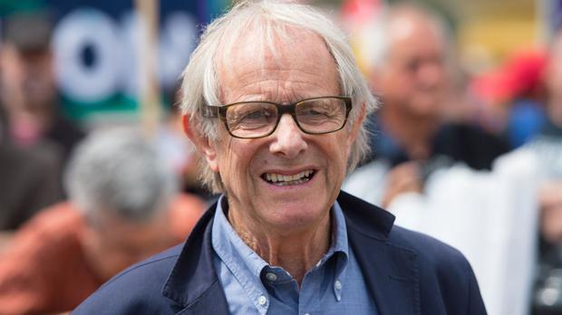 Ken Loach spoke of his fears of a Donald Trump presidency
