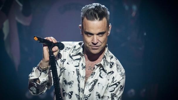 Robbie Williams' is set to make a big announcement at a press conference in Dublin today