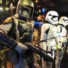 The Boba and stormtrooper exhibit (Lucasfilm Ltd/PA)