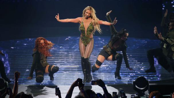 Britney Spears SLAYED at the iHeartRadio Music Festival