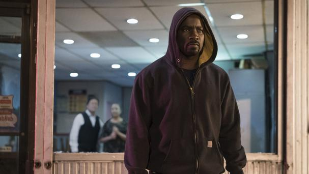 Mike Colter as Luke Cage, star of his own live-action series (Netflix/PA)