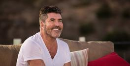 Simon Cowell at Judge's House section of the competition. (SyCo/Thames TV)