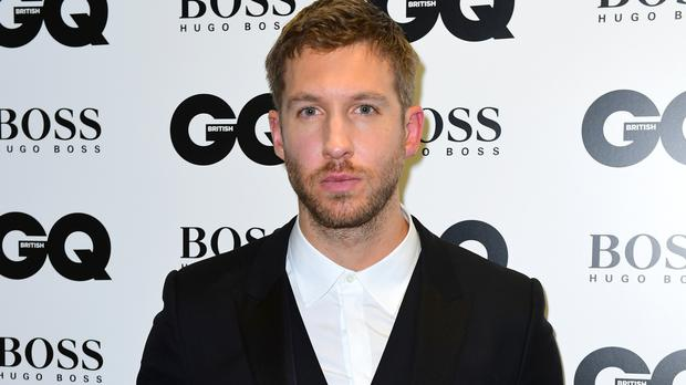 Calvin Harris has returned to the X Factor after being ejected in 2009 following a pineapple stunt