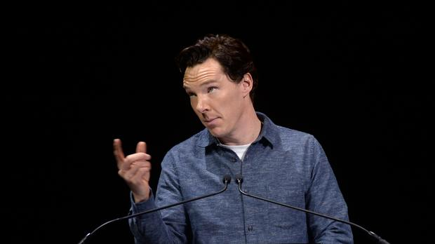 Benedict Cumberbatch said it was ridiculous he had been accused of hypocrisy for not offering accommodation to refugees in his own house