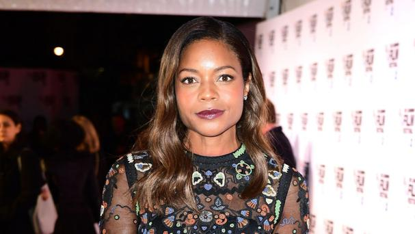 Naomie Harris attending the 60th BFI London Film Festival screening of Moonlight at the Embankment Garden Cinema, London.