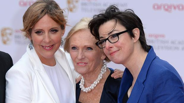 Mel Giedroyc, Mary Berry and Sue Perkins