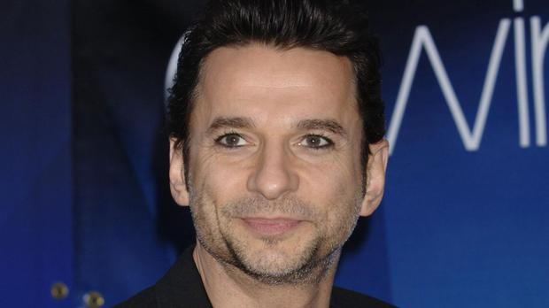 Dave Gahan of Depeche Mode who announced an album and tour