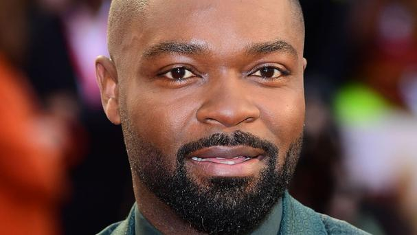 Spooks actor David Oyelowo was honoured with an OBE