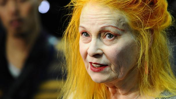 Dame Vivienne hit out at both of the US presidential candidates