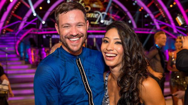 Will Young and Karen Clifton on the latest series of Strictly Come Dancing