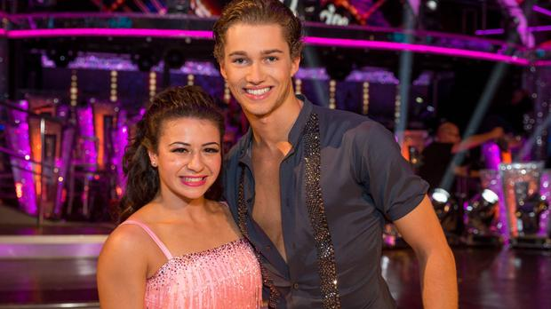 Claudia Fragapane and AJ Pritchard were shocked by the Will Young news
