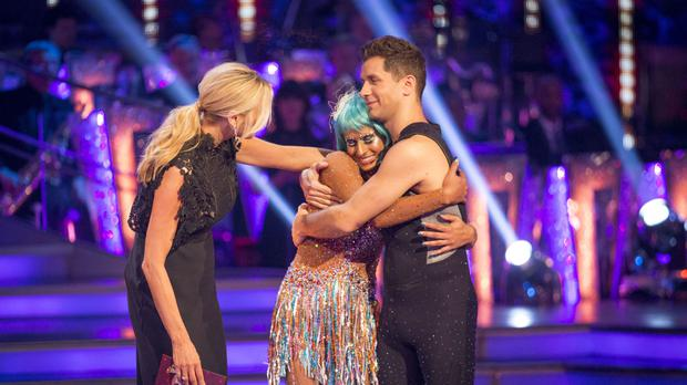 Naga Munchetty and Pasha Kovalev were voted off