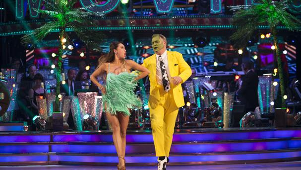 Ed Balls on Strictly (BBC/PA)