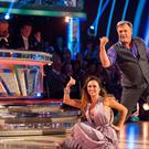 Katya Jones and Ed Balls during Saturday's edition of Strictly Come Dancing (BBC/PA)