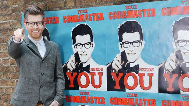 Gareth Malone said he would rather watch professional singers than newcomers getting started