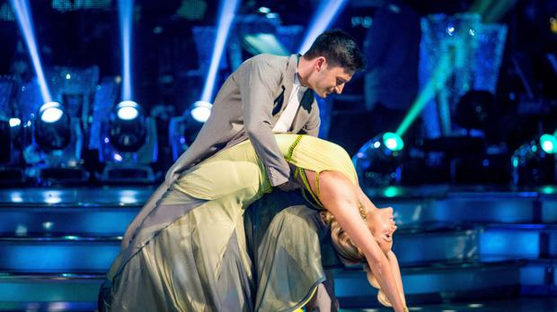 Laura Whitmore admitted that she felt she had let people close to her down, including her professional dance partner Giovanni Pernice (BBC/PA)