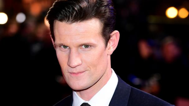 Actor Matt Smith appeared on The Graham Norton Show