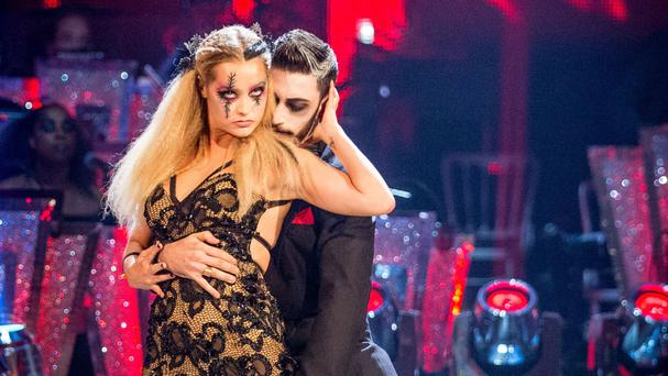 Laura Whitmore has been voted off Strictly