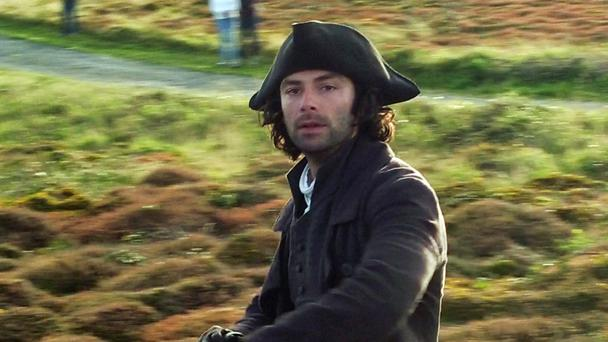 Aidan Turner stars as Poldark in the popular BBC drama