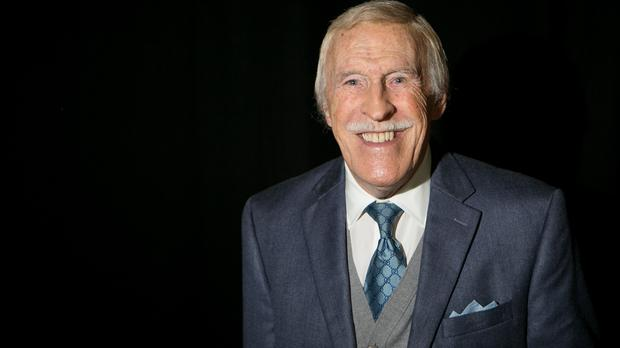Sir Bruce Forsyth had surgery after doctors discovered two aneurysms following a fall last year