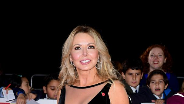 Carol Vorderman, attending The Pride of Britain Awards 2016, will be in the celebrity jungle