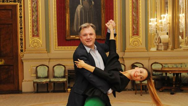 Ed Balls and Katya Jones will be performing Gangnam Style