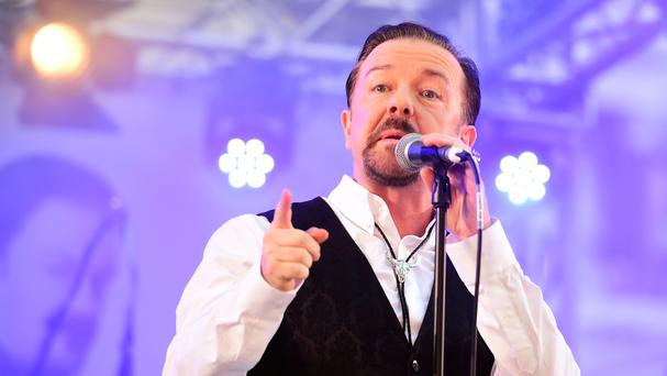 Ricky Gervais will appear on the Children In Need appeal show