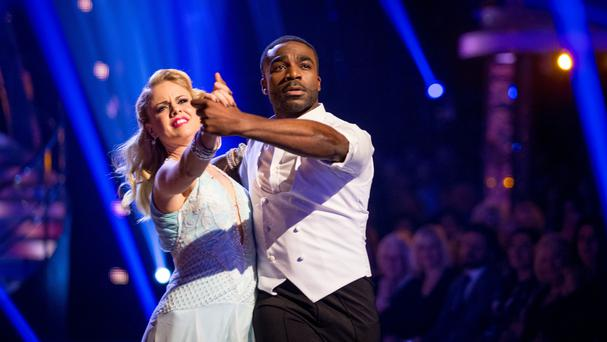 Joanne Clifton and Ore Oduba have impressed the judges (BBC)