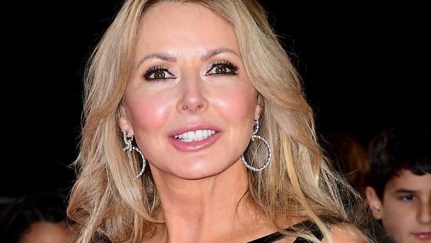 TV's Carol Vorderman is taking part in I'm A Celebrity ... Get Me Out Of Here!.