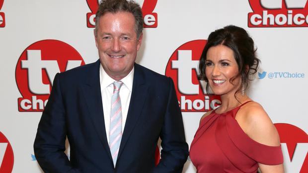 Piers Morgan and Susanna Reid are celebrating one year together on Good Morning Britain