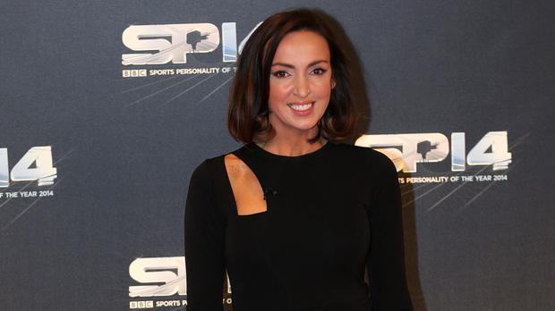 Sally Nugent helped out when her fellow BBC presenter went into labour