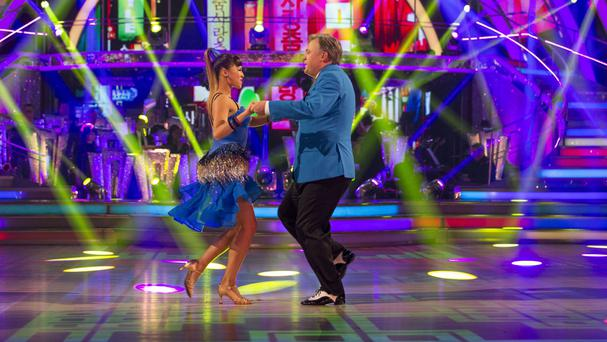 Ed Balls and Katya Jones on last week's Strictly