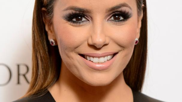 Eva Longoria Baston arrives at the Global Gift Gala charity fundraiser, at the Corinthia Hotel, in Whitehall Place, London