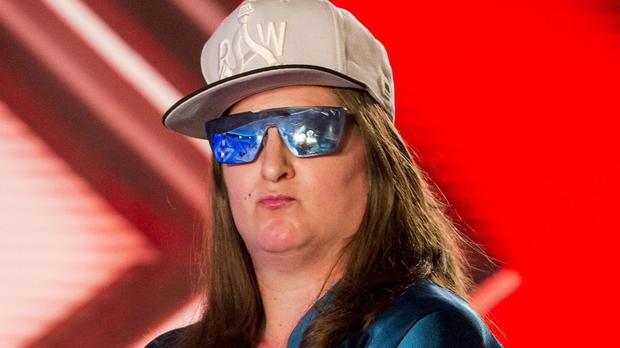 Honey G said she wanted 'to show that I'm a really good rapper' (Syco/Thames TV/ITV/PA)