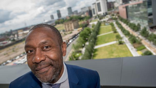 Birmingham City University's new chancellor, Sir Lenny Henry (Birmingham City University/PA)