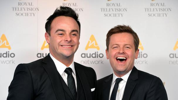 Hosts Ant and Dec.