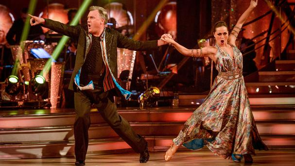 Ed Balls gets voted off Strictly Come Dancing