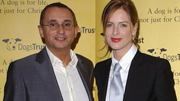 TV presenter Trinny Woodall and her then husband Jonny Elichaoff