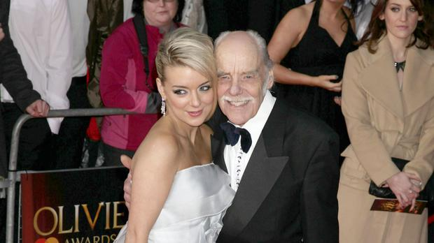 Sheridan Smith, pictured with her father Colin in 2011