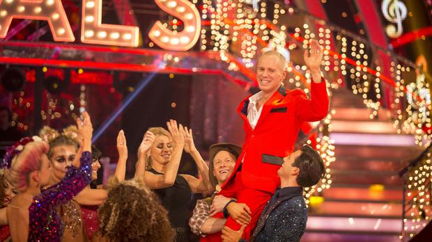Judge Robert Rinder during the results show for BBC One's Strictly Come Dancing (BBC/PA)