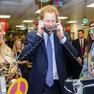 Prince Harry joined City brokers for a charity fundraising day
